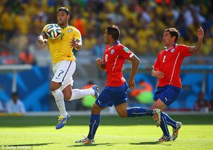 The Hand Ball in Soccer